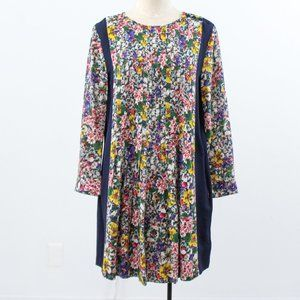 Band of Outsiders S/M Silk Floral Print Dress